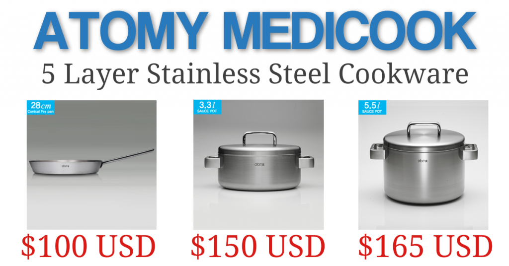 Atomy Medicook Stainless Steel Cookware